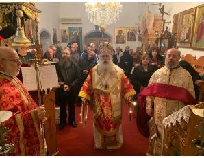 Η Κυριακή Μετά την Χριστού Γέννησηστην Ιερά Μονή Παναγίας Εξακουστής Ιεράπετρας.