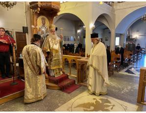 Η Κυριακή του Ασώτου στον Ιερό Ναό Αγίου Γεωργίου πόλεως Σητείας.