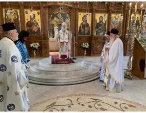 Αρχιερατική Θεία Λειτουργία  στον Ι. Ναό Ευαγγελισμού Θεοτόκου πόλεως Σητείας