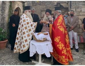 Μέγας Παρακλητικός Κανόνας προς την Υπεραγία Θεοτόκο στην Ιερά Μονή Παναγίας Βρυωμένου Ιεράπετρας.