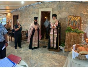Ο τελευταίος Παρακλητικός Κανόνας της περιόδου στον Ιερό Ναό Παναγίας Κοτσυφιανής της Ενορίας Γρα-Λυγιάς.