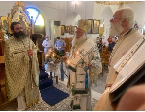 Με λαμπρότητα η πανήγυρη του Ιερού Ενοριακού Ναού Τιμίου Σταυρού Ιεράπετρας.