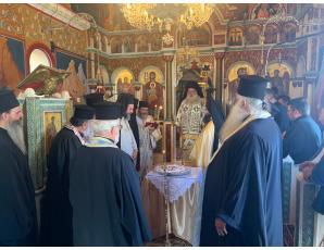 Το τετραετές Αρχιερατικό Μνημόσυνο του αοιδίμου Μητροπολίτου Ιεραπύτνης και Σητείας κυρού Ευγενίου.