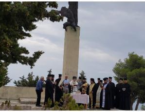 Ο Σεβ. Μητροπολίτης Ιεραπύτνης και Σητείας κ. Κύριλλος προεξήρχε στις εκδηλώσεις τιμής και μνήμης του Ολοκαυτώματος των Επαρχιών Βιάννου και Ιεράπετρας.