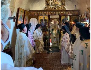 Λαμπρή η πανήγυρη της Ιεράς Πατριαρχικής και Σταυροπηγιακής Μονής Τοπλού Σητείας.