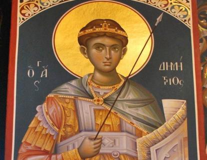 Πανήγυρη Ιερού Ναού Αγίου Δημητρίου της Ενορίας Κεντρίου Ιεράπετρας