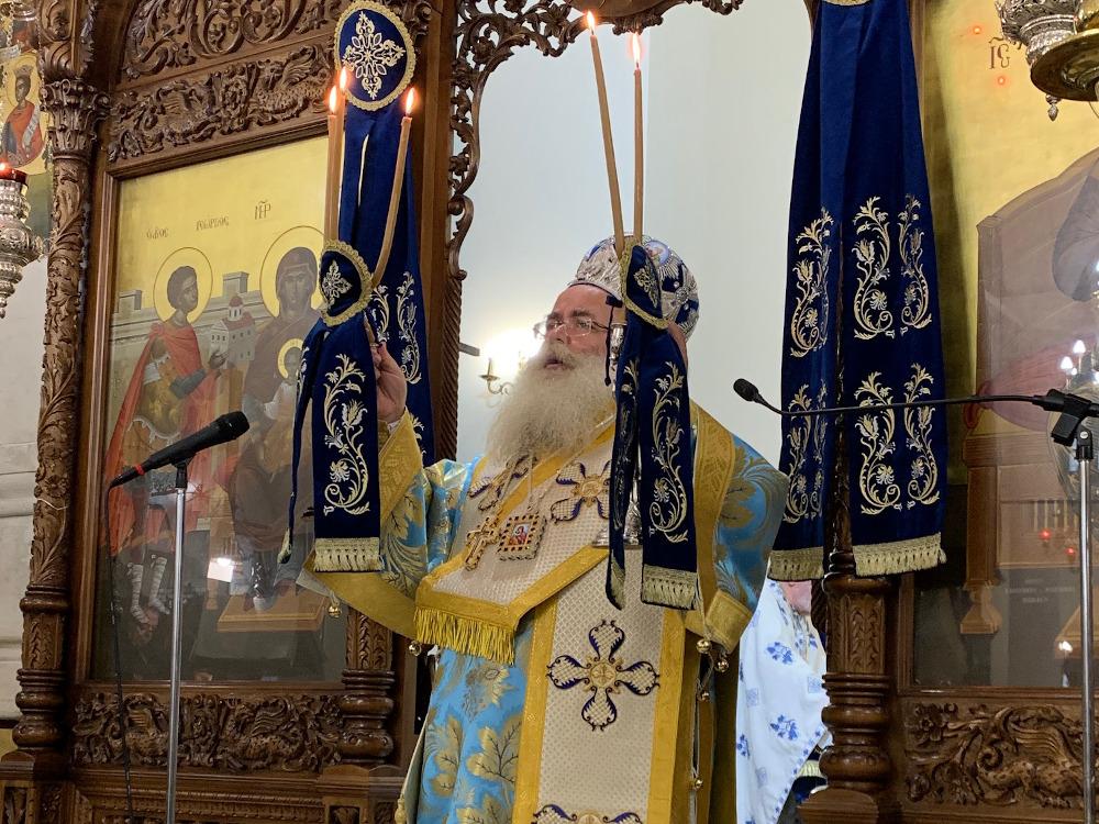 Με λαμπρότητα η εορτή της Αγίας Σκέπης και της εθνικής επετείου της 28ης Οκτωβρίου 1940.