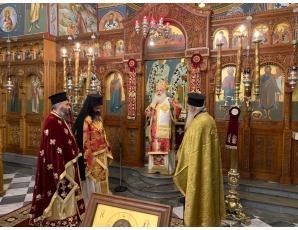 Διαφορετική φέτος η πανήγυρη του του ιερού Καθεδρικού Ναού Αγίας Αικατερίνης, πολιούχου και προστάτιδος Σητείας.
