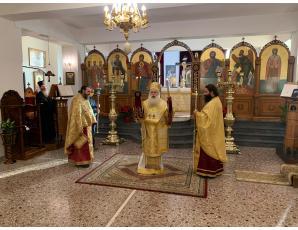 Η πανήγυρη του Ιερού Ναού Οσίου Νίκωνος Ιεράπετρας.