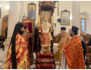 Η Δεσποτική εορτή της Γεννήσεως του Χριστού στον Ιερό Μητροπολιτικό Ναό Αγίου Γεωργίου Ιεράπετρας
