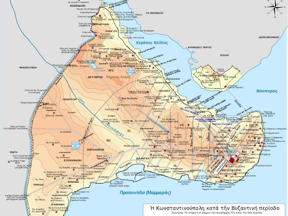 Κωνσταντινούπολη : 1690 χρόνια από τα εγκαίνιά της.