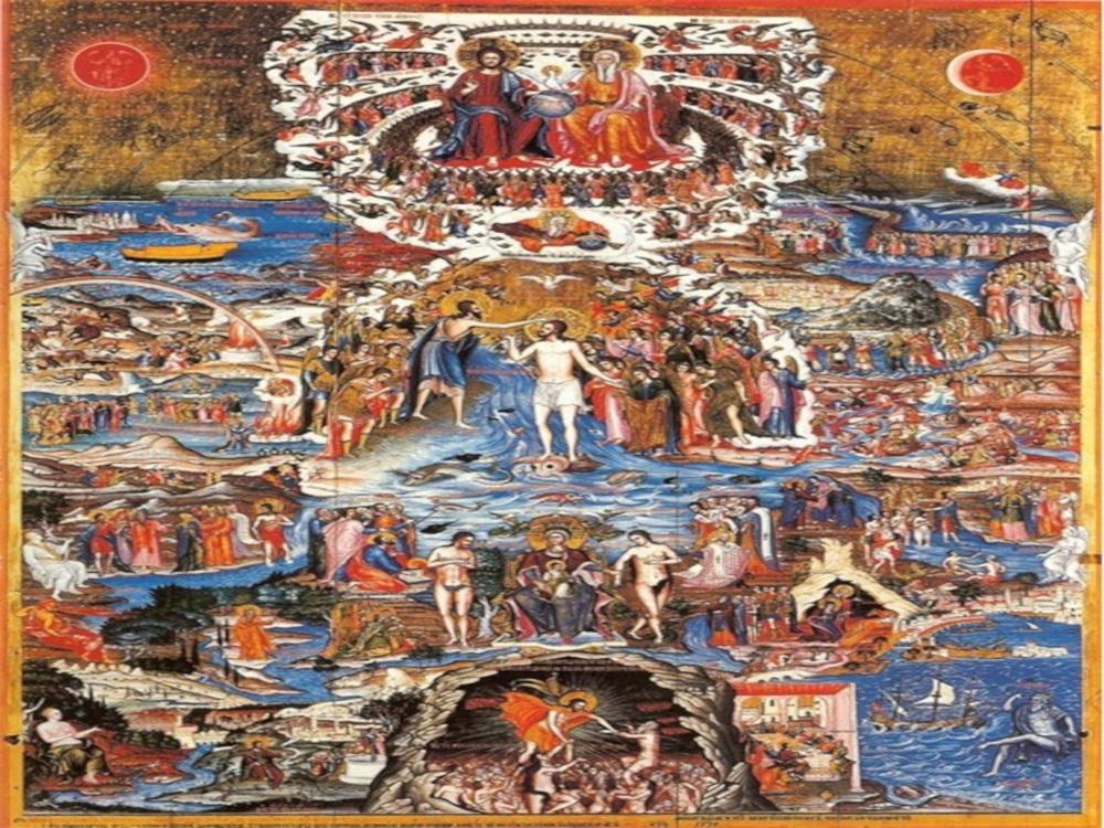 Η εικονογραφία της ευχής του Μεγάλου Αγιασμού «Μέγας ει Κύριε»