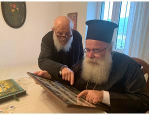 Ο επικήδειος λόγος του Σεβ. Κυρίλλου στον μακαριστό παπα Εμμανουήλ Τζαννιδάκη