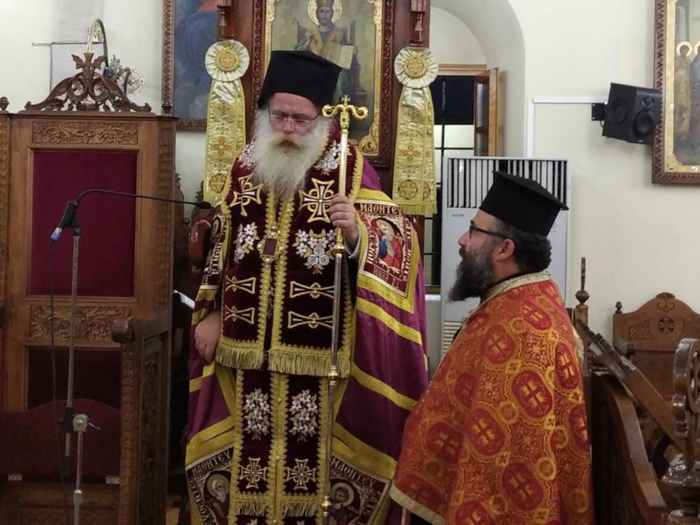 Η Α´ Στάση των Χαιρετισμών στον Ι. Μητροπολιτικό Ναό Αγίου Γεωργίου Ιεράπετρας.