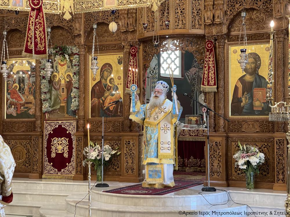 Σεμνοπρεπώς γιορτάστηκε ο Ευαγγελισμός της Θεοτόκου και η επέτειος της Εθνικής μας Παλιγγενεσίας στη Σητεία. Χειροθεσία νέου Αναγνώστου.