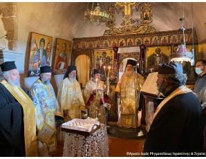 Το τεσσαρακοθήμερο μνημόσυνο του Ιερομονάχου Ζαχαρία στην Ιερά Μονή Τοπλού.