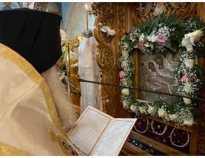 Η Γ΄ Στάση των Χαιρετισμών της Υπεραγίας Θεοτόκου στον Ι. Ναό Παναγίας Ελεούσας Ιεράπετρας.