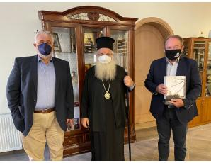 Eπίσκεψη του Αντιπεριφερειάρχη Λασιθίου κ. Ιωάννη Γουλιδάκη στον Σεβ. Μητροπολίτη Ιεραπύτνης και Σητείας κ. Κύριλλο.