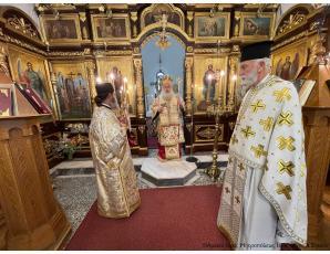 Η Κυριακή της Σταυροπροσκυνήσεως στον Ιερό Ναό Τιμίου Σταυρού πόλεως Ιεράπετρας