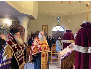 Η Δ´ Στάση των Χαιρετισμών  στον Ιερό Προσκυνηματικό Ναό Μιχαήλ Αρχαγγέλου Ιεράπετρας.