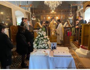 Το τεσσαρακονθήμερο μνημόσυνο του μακαριστού Ιερέως Πρωτ. Εμμανουήλ Τζανιδάκη στην Ενορία Πισκοκεφάλου