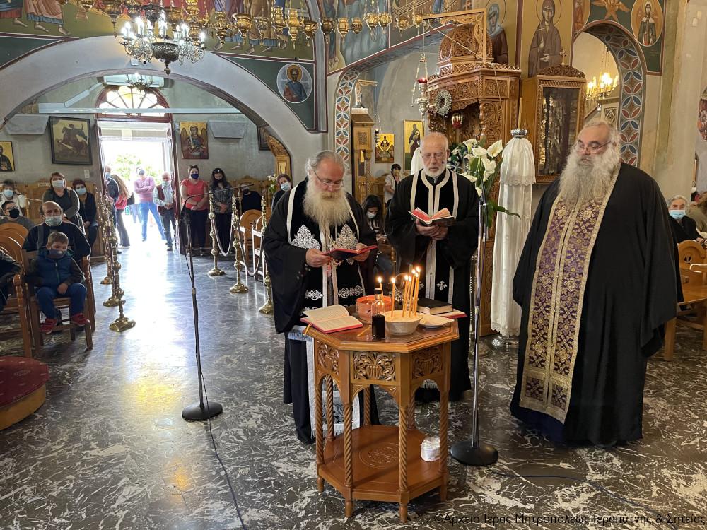 Οι Ακολουθίες του Ιερού Ευχελαίου και του Νιπτήρος  στον Ι. Ναό Παναγίας Ελεούσης Ιεράπετρας.