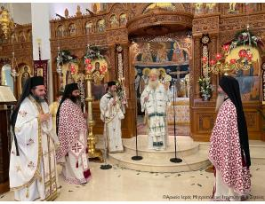 Με λαμπρότητα  η πανήγυρη του Ιερού Καθεδρικού Ναού Αγίας Φωτεινής Ιεράπετρας-Χειροθεσία Πνευματικού.