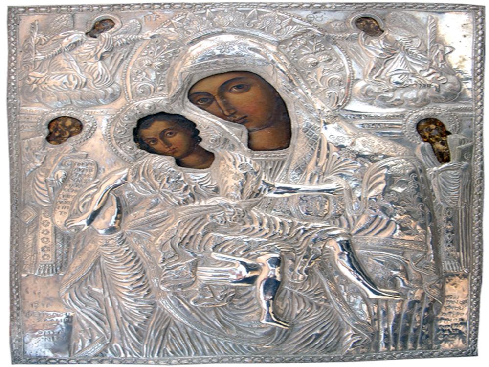Ιερά πανήγυρη Ιερού Ναού Παναγίας Ελεούσης πόλεως Ιεράπετρας.