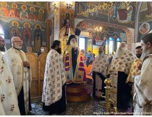 Αρχιερατικός Εσπερινός  στον Ιερό Ενοριακό Ναό της Παναγίας Ελεούσας Ιεράπετρας.