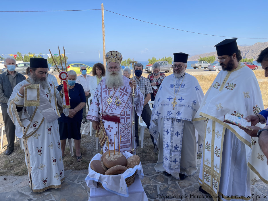 Η εορτή της Αναλήψεως του Κυρίου στην Ενορία Γούδουρα Σητείας.