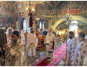 Λαμπρή η πανήγυρη του Ιερού Ναού Παναγίας Ελεούσας Ιεράπετρας.