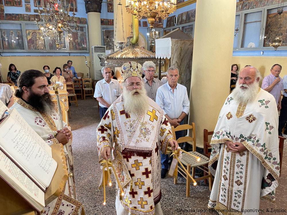 Η εορτή των Αγίων Πάντων στην Ενορία Ανατολής Ιεράπετρας.