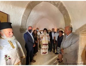 Τιμήθηκε η μνήμη των Σκαλιωτών ηρώων στον πανηγυρίζοντα Ιερό Ναό Αγίας Παρασκευής Ζήρου.