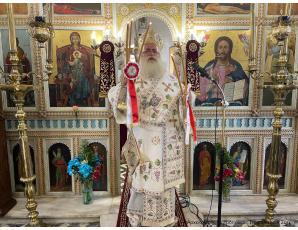 Με λαμπρότητα η πανήγυρη του Ιερού Ναού Αγίου Παντελεήμονος Χαμεζίου Σητείας.