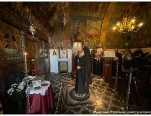 Ο πρώτος Παρακλητικός Κανόνας στην Ιερά Μονή Παναγίας Φανερωμένης Ιεράπετρας.