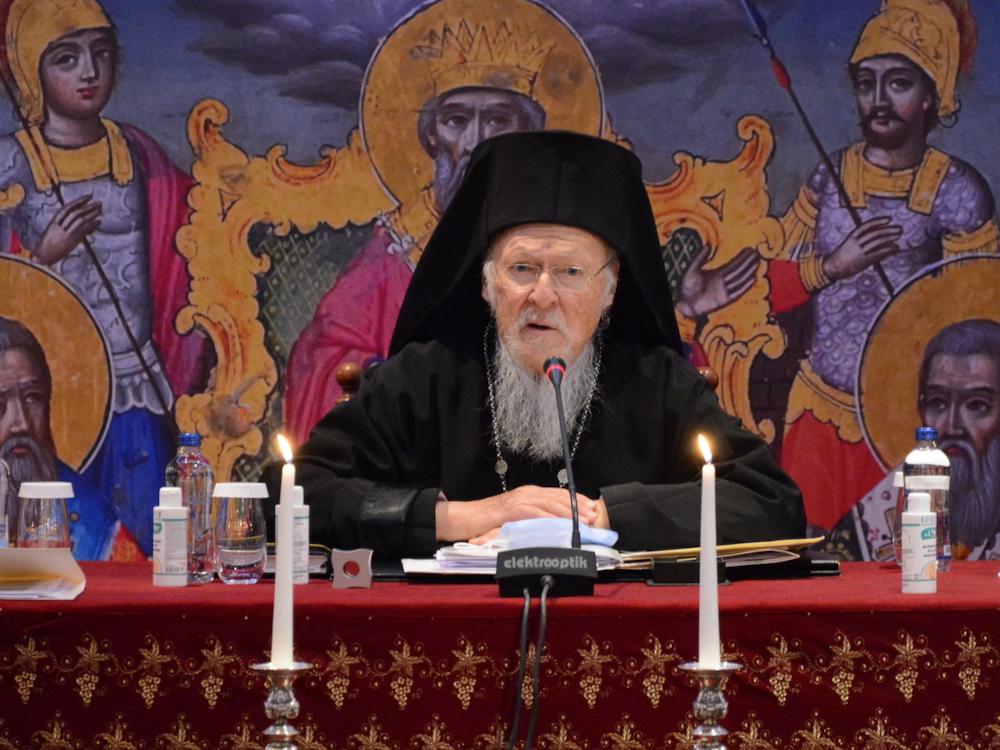 Δήλωση του Οικουμενικού Πατριάρχου για την εκδημία του Μίκη Θεοδωράκη.