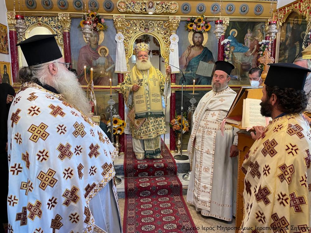 Λαμπρή η πανήγυρη της Ιεράς Μονής Παναγίας Εξακουστής Μαλλών Ιεράπετρας.