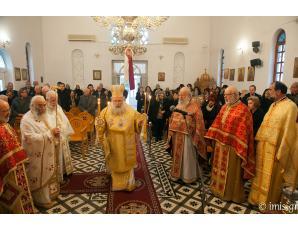 Aρχιερατική Θεία Λειτουργία και 40νθήμερο μνημόσυνο στην Ενορία Φέρμων