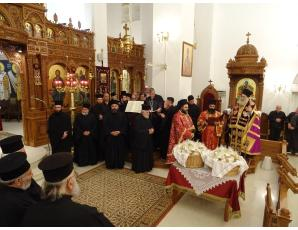 Η κοπή της Bασιλόπιτας της Ιεράς Μητροπόλεως Ιεραπύτνης και Σητείας στην Ιεράπετρα