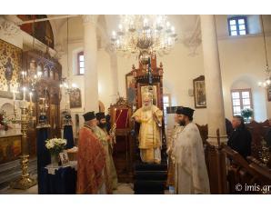 Aρχιερατική Θεία Λειτουργία και μνημόσυνο στον Ιερό Μητροπολιτικό Ναό Αγίου Γεωργίου Ιεράπετρας