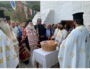 Αρχιερατικός Εσπερινός στον πανηγυρίζοντα Ιερό Ναό Αγίου Ευσταθίου Σελακάνου