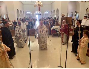 Αρχιερατική Θεία Λειτουργία και ετήσιο μνημόσυνο στον Ιερό Καθεδρικό Ναό Αγίας Φωτεινής