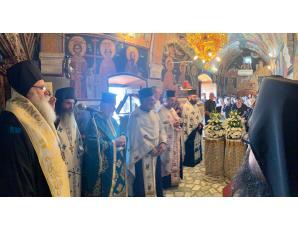 Η Εξόδιος Ακολουθία του μακαριστού Νικολάου Μπουρνέλη, Εκκλησιαστικού Συμβούλου Ενορίας Σταυρού (Καπιστρίου) Ιεράπετρας