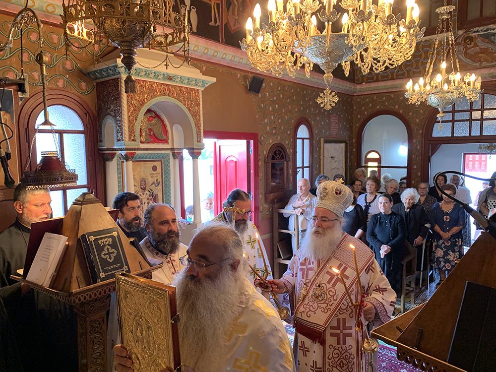 Με Αρχιερατική Θεία Λειτουργία πανηγύρισε το Επισκοπικό Παρεκκλήσιο Οσίου Ιωάννου του Ερημίτου Ιεράπετρας