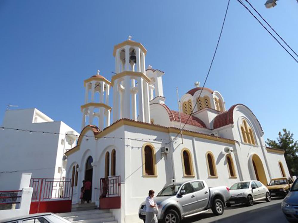 Πρόγραμμα πανηγύρεως  Ιερού Ενοριακού Ναού Τιμίου Σταυρού πόλεως Ιεράπετρας