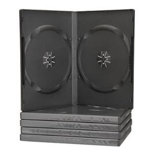 Θήκη CD/DVD Πλαστική Μαύρη - 2 Θέσεων
