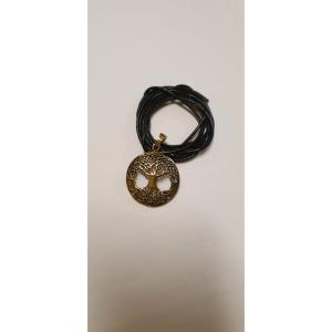 Lebensbaum Bronze with leatherband
