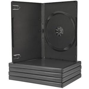 Θήκη CD/DVD Πλαστική Μαύρη -   1 Θέση