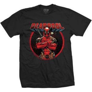 Marvel Comics Unisex Tee: Deadpool Crossed Arms