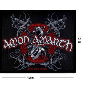 Amon Amarth -  Red / White Dragon Patch